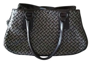 Bottega Veneta Tote in BROWN W/SILVER ACCENT