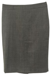 Ann Taylor Retail New With Tags Skirt Grey Herringbone