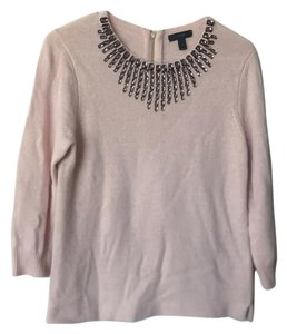 J.Crew Polish Refined Embellished Soft Sweater