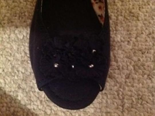 American Eagle Outfitters Navy blue Flats