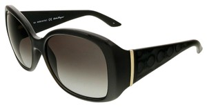 Salvatore Ferragamo Salvatore Ferragamo Black Square Sunglasses