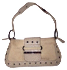 Guess Ivory Clutch