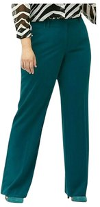 Lane Bryant Slacks Career Plus Size 24w Trouser Pants blue