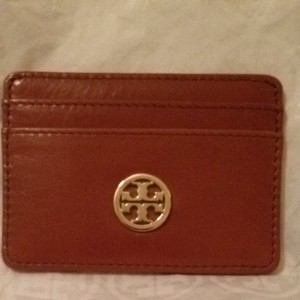 Tory Burch Tory Burch Dena Slim Card Case Luggage