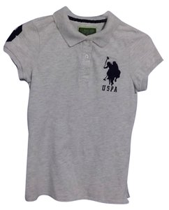 U.S. Polo Assn. Tee T Shirt Grey