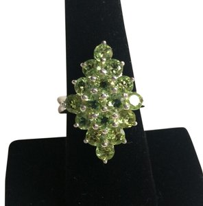 Other Peridot Sterling Silver Ring