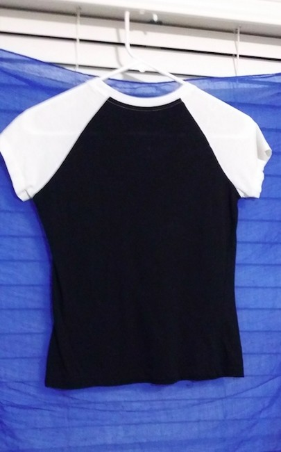 A|X Armani Exchange T Shirt Black and white