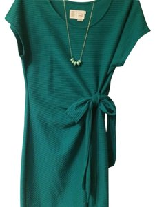 Anthropologie short dress Jade Green on Tradesy