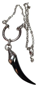 Swarovski SWAROVSKI NECKLACE Black Crystal Horn 17