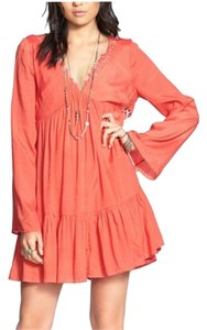 Free People short dress Blossom Pink on Tradesy