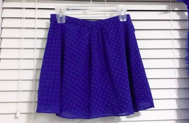 Lucca Couture Skirt Blue print