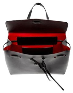 Mansur Gavriel Mini Red Shoulder Bag