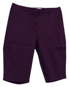 H&M Bermuda Shorts Purple and white