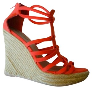 Charlotte Russe Coral Wedges