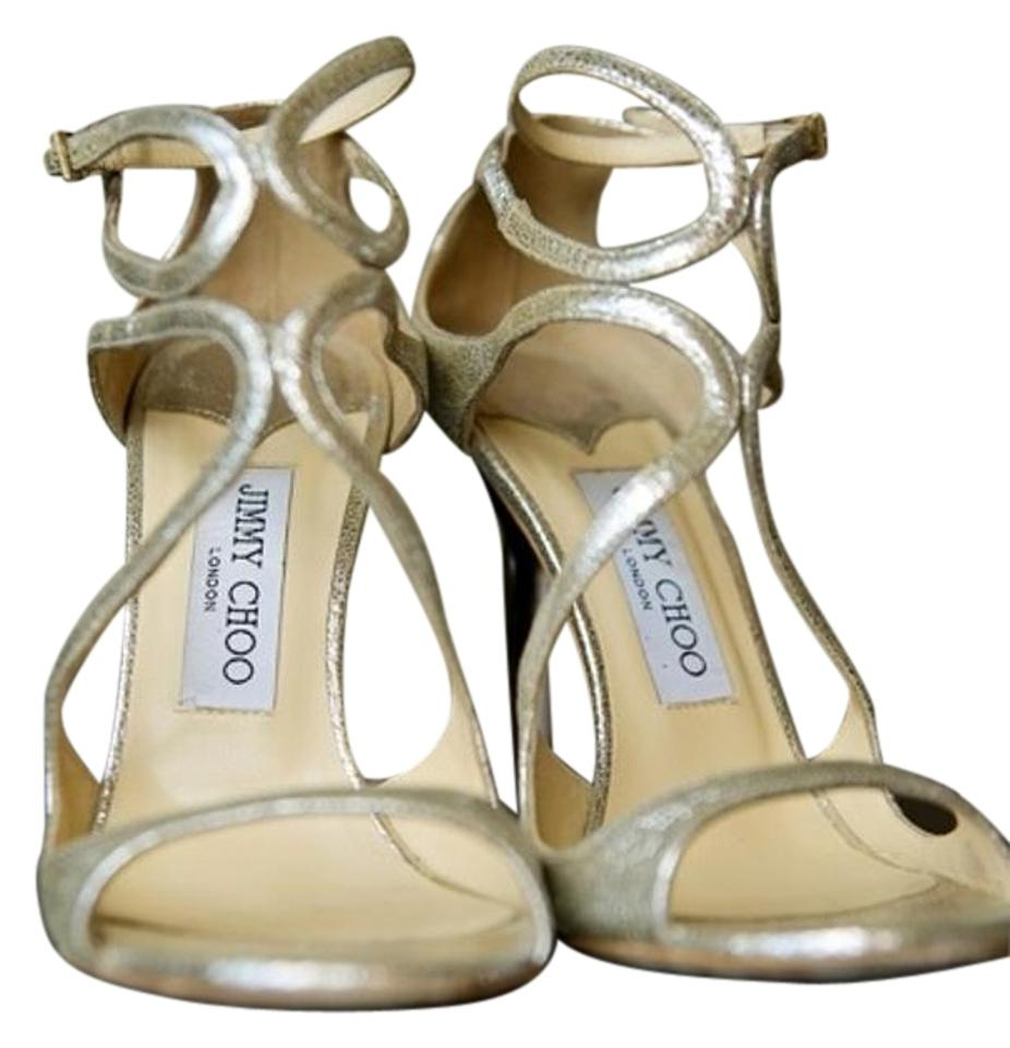 Jimmy Sandals Choo Champagne Lance / Sandals Jimmy 3ec4f5