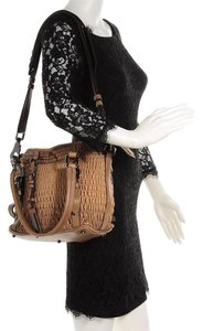 Burberry Prorsum Lowry Ruched Shoulder Bag