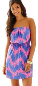 Lilly Pulitzer short dress Hot Pink & Purple on Tradesy