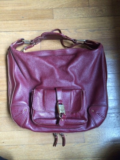 Marc Jacobs Satchel in Burgundy Image 1