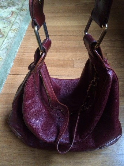 Marc Jacobs Satchel in Burgundy Image 3