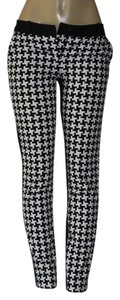 Michael Kors Skinny Pants black/white
