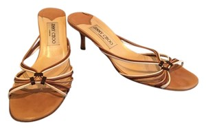 Jimmy Choo Camel Sandals