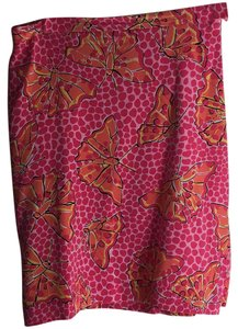 Lilly Pulitzer Skirt Pink Multi