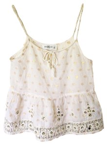 Abercrombie & Fitch A&f Cute Summer Cute Top cream
