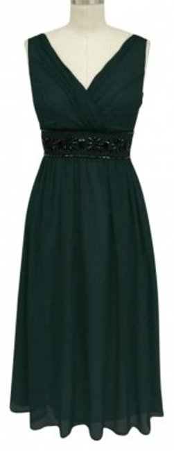 Preload https://item1.tradesy.com/images/dark-hunter-green-beaded-waist-cocktail-sizelargexl-mid-length-formal-dress-size-16-xl-plus-0x-154435-0-0.jpg?width=400&height=650