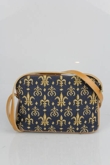Royal Tapisserie From France Leather Tapestry Cross Body Bag