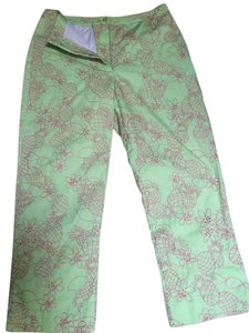 Lilly Pulitzer Capris Lime green