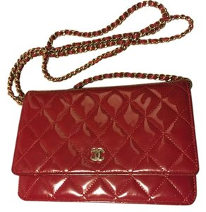Chanel Woc Patent Cross Body Bag