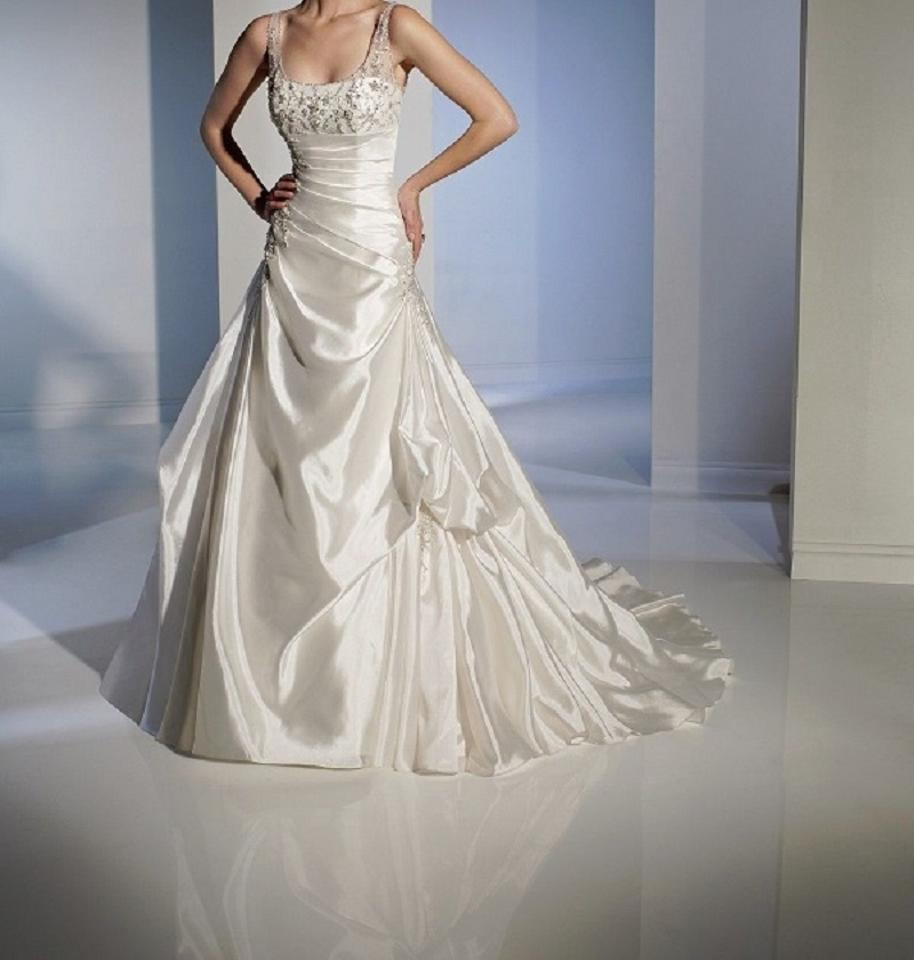 Cost Of Sophia Tolli Wedding Gowns: Sophia Tolli Ivory Frosted Taffeta Y21164 Guiliana Modern