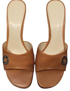 AK Anne Klein Tan; Brown Sandals