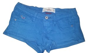 Hollister Size 1 Summer Mini/Short Shorts Blue