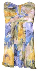Badgley Mischka short dress Multi Color on Tradesy