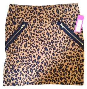 Xhilaration Mini Skirt Leopard print