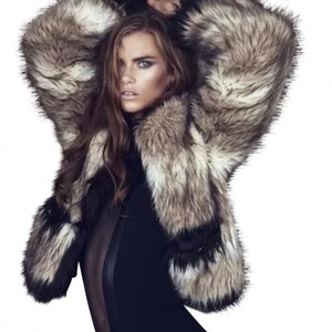 Lanvin for h&m Fur Coat