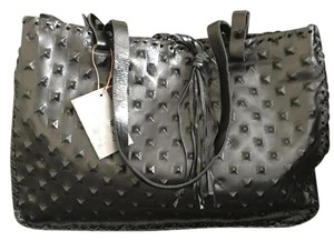 Carla Mancini Satchel in Black