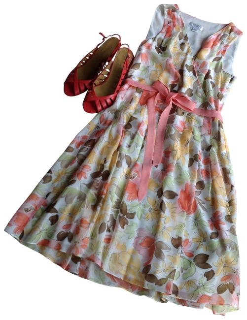Preload https://item5.tradesy.com/images/ann-taylor-loft-coral-pink-seafoam-brown-floral-on-off-white-watercolor-silk-lined-cocktail-dress-si-154459-0-0.jpg?width=400&height=650