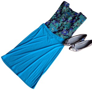 Banana Republic Skirt turquoise