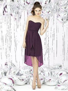 Alfred Sung Aubergine 8120 Dress