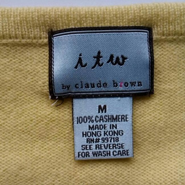 itw by Claude Brown Top Lime Green