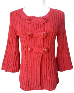 Heather B Cable Knit Cardigan