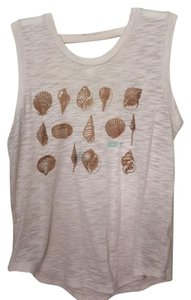 Roxy Top Beige and gold