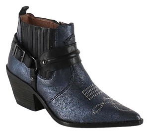 Donald J. Pliner Dark Blue Boots