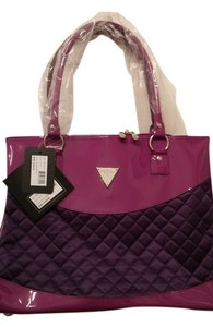 Guess Extra Large Tote Handles Violet Travel Bag