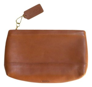 Coach Leather Classic brown Clutch