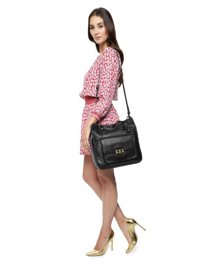 Juicy Couture Designer Studded Tote in Black