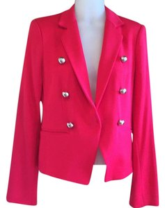 Elizabeth and James Red Blazer