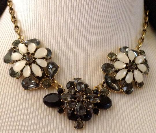 Vintage Vintage French Rhinestones Statement Necklace Unsigned